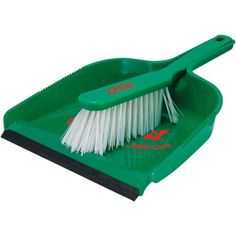 Personalised Dustpan and Brush Sets in a choice of 5 modern colours.