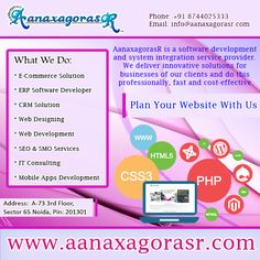 Plan Your ‪Website‬ with us. We build the websites as per ‪‎business models. visit: http://www.aanaxagorasr.com/webdesign.php Or Call- +918744025333 ‪#‎SEO‬ ‪#‎WebDesign‬ ‪#‎WebDevelopment‬ ‪#‎smo‬ #website