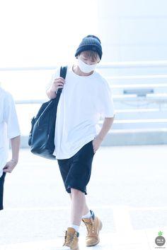 [AIRPORT] 150715: BTS Jeon Jungkook at Incheon Airport #bangtan #bangtanboys #fashion #style #korean #kfashion #kstyle #kpop