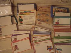 Nice collection of retro and vintage recipe cards - most appear to be from the 1980s. The listing includes everything shown in the pictures -
