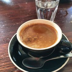 https://flic.kr/p/DGTsHU | Long black coffee time at La Luciola in South Yarra | Long black coffee time at La Luciola in South Yarra #coffee #longblack
