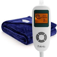 Heated blanket that all you need this winter. An indispensable tool for you and your loved ones in winter days. Cordless Heated Blanket, Mattress Manufacturers, Natural Pain Relief, Gadget Gifts, Winter House, Good Sleep, Household Items, How Are You Feeling, Comfort Zone