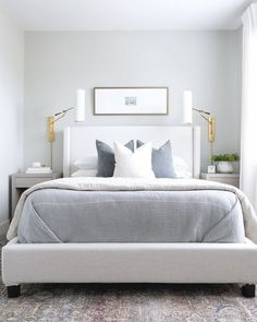 Clean Bedroom, Home Bedroom, Master Bedroom, Bedroom Decor, Bedroom Ideas, Apartment Decoration, Design Apartment, Contemporary Bedroom, Modern Bedroom