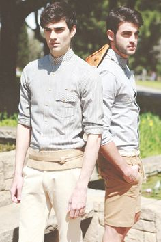 Diego C. and Andres M. by Carlos Moreno. Don't too much care for the little belt situation.