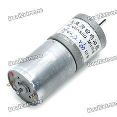 High Torque 60RPM 12V DC Geared Motor. 60RPM 12V DC geared motor - Current: 0.05A - Diameter: 25mm - Torque: 4kgcm. Tags: #Electrical #Tools #Arduino #SCM #Supplies #Motors