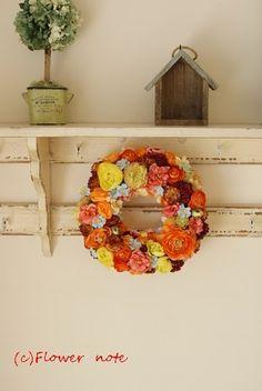 Floral Wreath, Wreaths, Fall, Flowers, Home Decor, Autumn, Floral Crown, Decoration Home, Door Wreaths