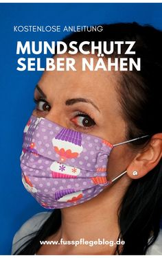Mundschutz selber nähen – kostenlose Anleitung In our free sewing instructions, we show you step-by-step how you can make your own mouthguard in just a few steps. Without any sewing pattern! Barbie Clothes, Sewing Clothes, Diy Clothes, Nose Mask, Diy Face Mask, Dog Sleep, Sewing Dress, Mouth Guard, Feet Care