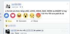 5 biểu tượng cảm xúc thay thế nút Like đã phổ biến toàn cầu  Một bài viết trước đã  nói đến việc Facebook đang âm thầm nghiên cứu tạo ra những nút thể hiện cạm xúc thay thế nút Like: love(yêu), haha, wow, sad (buồn) và angy (giận dữ) nhằm giúp người dùng không còn nhàm chán với nút like. Tính năng này lại giúp Facebook tạo được sự đột phá trước các đối thủ cạnh tranh và quan trọng nhất là người dùng khá thích thú với tính năng mới này.