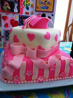 My step daughter's graduation/birthday cake.