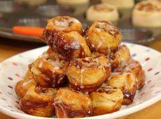 Mini muffin pan cinnamon rolls