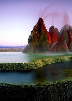 Fly Geyser - Washoe County - Nevada - USA