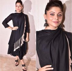 Stylish Dresses, Simple Dresses, Beautiful Dresses, Casual Dresses, Pakistani Dresses, Indian Dresses, Indian Outfits, Pakistani Fashion Casual, Indian Fashion