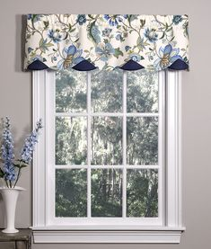 Azahar Lined Petticoat Valance Valance Window Treatments, Window Coverings, Valance Curtains, Sewing Curtains, Cornices, Drapery, Kitchen Window Valances, Kitchen Curtains, Bathroom Curtains