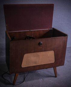 Ekco ARG210 Auto Radiogram Record Player 99P START NO RESERVE in Sound & Vision, Vintage, Radios | eBay