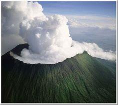 Nyiragongo Volcano, Virunga National Park, Eastern Congo
