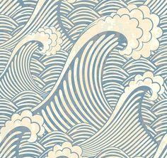 Wallpaper - seaside design at Trendy Stickers
