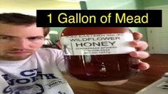 brewing mead - YouTube Beer Recipes, My Best Recipe, Mead, Beer Bottle, Brewing, I Am Awesome, Easy Meals, Drinks, Youtube