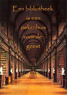 #citaten #bibliotheek #ziekenhuis Quote van de week 45-2012 -- door Tekstbureau Van Ginneken