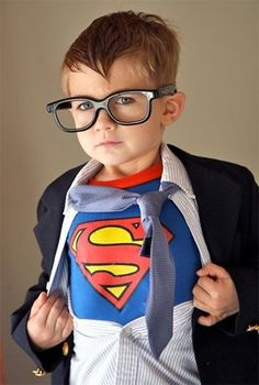 Super Man... I want to do this to my nephew!! Lol