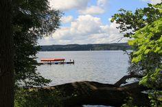 """So, das war nun der letzte """"blinde Fleck"""" auf der Wanderkarte. Nun habe ich auch das Ostufer des Starnberger Sees erwandert. Da war wieder ..."""