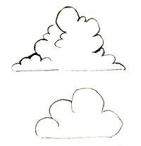 How to draw clouds    ~ mangatutorials.com