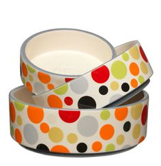 Sacred Pet Boutique : Fuzzyard Dog Bowl - Festival in Small, Medium and Large