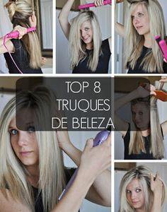 Mystery Girl: Top 8 Truques De Beleza
