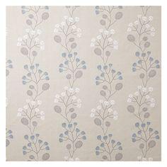 Buy John Lewis Seedlings Fabric, Slate Online at johnlewis.com