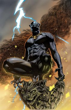 Comic Book Superheroes, Comic Books Art, Comic Art, Book Art, Black Panther Character, Black Panther Comic, Cosmic Comics, Marvel Comics Art, Symbiotes Marvel