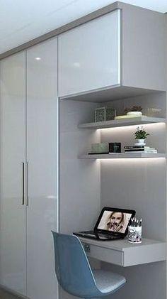 Wardrobe Room, Wardrobe Design Bedroom, Bedroom Bed Design, Bedroom Furniture Design, Home Room Design, Home Office Design, Home Office Decor, Home Decor Furniture, Home Interior Design