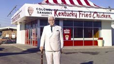 This week's episode is all about colonel Sanders and the history of KFC. It is a fascinating and in depth look at how KFC got its start. Pressure Fryer, Pressure Cooking, History Of Kfc, Chicken Story, Chicken Facts, Colonel Sanders, Kentucky Fried, Fast Food Chains