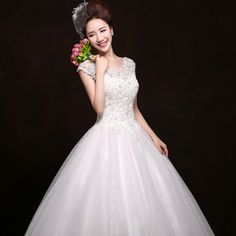 Fairy 2016 maternity wedding dress bride type slit neckline plus size wedding dress big yards HS22