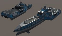 The Corvette is an agile electronic warfare and scout ship, armed with 4 anti-submarine grenade launchers (not pictured), 2 EMP cannons (also not pictur. Class E-War Corvette Concept Ships, Expedition Vehicle, Navy Ships, Design Competitions, Submarines, Space Travel, Boat Building, Armored Vehicles, War Machine
