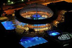 Night swimming at the Thermana Lasko spa Aqua, Night Swimming, Wellness Spa, Extra Rooms, At The Hotel, Park, 4 Star Hotels, Good Night Sleep, Relax
