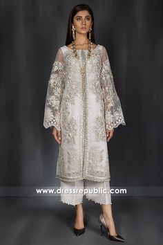 Shop Online Made-to-measure Party and Wedding Guest Dresses. Pakistani Fashion Party Wear, Pakistani Formal Dresses, Pakistani Wedding Outfits, Pakistani Dress Design, Pakistani Designers, Indian Dresses, Indian Outfits, Indian Fashion, Pakistani Dresses Shalwar Kameez