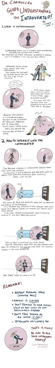 Dr. Carmellas Guide to Understanding the Introverted