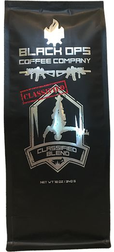 MEDIUM BLEND BLACK OPS COFFEES' CLASSIFIED BLEND IS BOUND TO HAVE YOU TALKING ABOUT HOW AMAZING THIS COFFEE IS. PREMIUM BEANS FROM SOUTH AMERICA +INDONESIA ARE