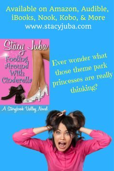 Discover a modern Cinderella story in book one of a new romantic comedy chick lit series set at a theme park. You'll find this funny women's novel at Amazon and many other retailers.