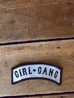 Girl Gang Patch - Gypsy Warrior