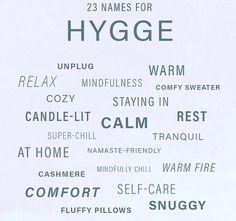 Hygge names