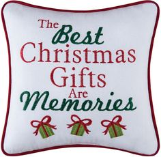 The Best Christmas Gifts Cotton Pillow Christmas Post, Best Christmas Gifts, Before Christmas, Christmas Crafts, Frosty The Snowmen, Home Design Plans, White Pillows, Cotton Pillow, Xmas Decorations