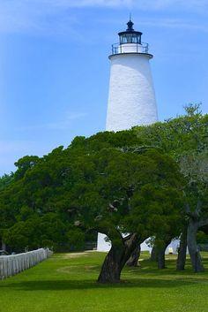 Ocracoke Lighthouse - Ocracoke Island, North Carolina