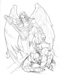 St. Michael by GavinMichelli.deviantart.com on @DeviantArt
