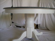 round pedestal dining table with 4 windsor chairs shabby chic shades of grey by