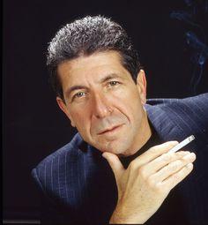 Lenard Cohen a Montréal, in Canada, 29 giugno 1990 (Jj Raudsepp/Image Distribution/ZUMAPRESS.com)