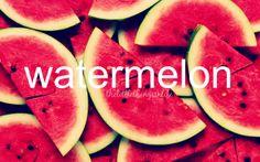 watermelon in summer <3 | thelittlethingsinlife