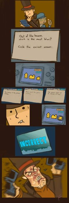I love Professor Layton, but some of the puzzles are ridiculous.