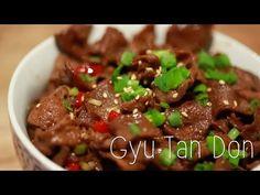 How to make Gyu Tan Don - YouTube