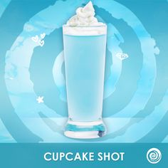 Hpnotiq Cupcake shot: 1 part Hpnotiq, 1 part whipped cream vodka Party Drinks, Fun Drinks, Yummy Drinks, Alcoholic Drinks, Beverages, Shot Recipes, Drink Recipes, Cooking Recipes, Hypnotic Drinks