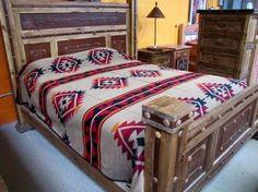 Cowboys & Angels Queen Bedspread